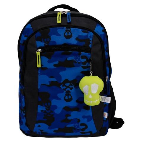 """Boys' Skull Print 16"""" Backpack"""