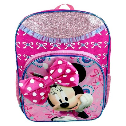 Disney Minnie Mouse Backpack- Pink