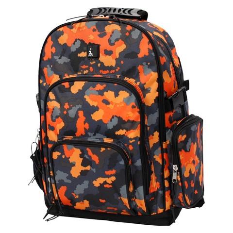 Backpack iPack - Orange Camo