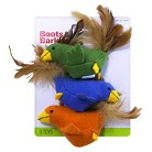 Boots & Barkley™ Toy Bird/Fish w/Catnip