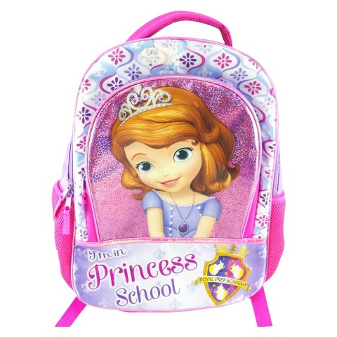 "Sofia The First Backpack - Pink (16"")"