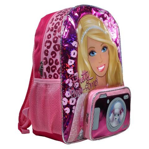 """Barbie Pink Pick Light Up 16"""" Backpack"""