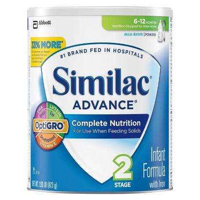 Similac® Advance Powder - 1.93lb (6 Pack)
