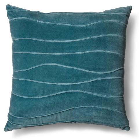"Room Essentials® Velvet Wave Toss Pillow (18x18"")"