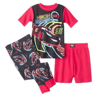 Disney® Cars Toddler Boys' 3-Piece Short-Sleeve Pajama Set