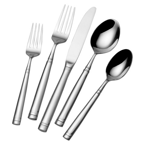 Towle Living Contour 42 Piece Flatware Set