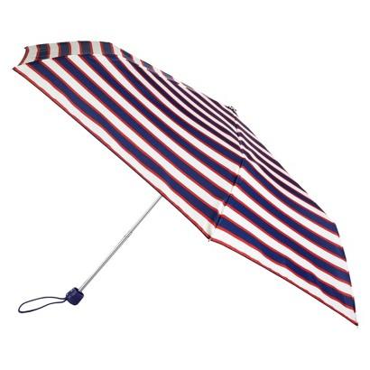 totes® Compact Stripe Umbrella - Navy/White