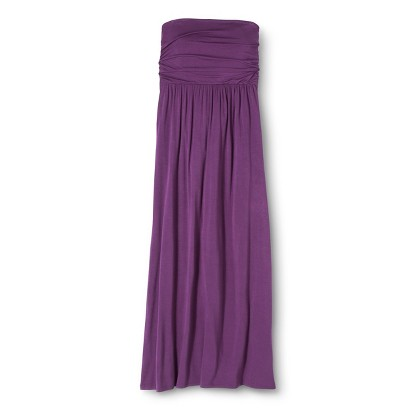 Merona® Women's Strapless Maxi Dress - Solids
