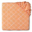 Circo® Woven Dream Truckin' Orange Fitted Crib Sheet
