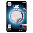 GE LED 25-Watt CAC G16 Light Bulb - Soft White, Clear Bulb