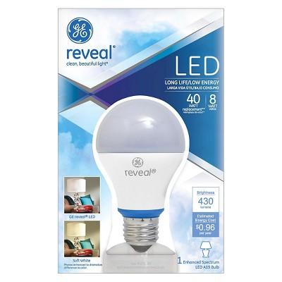 GE Reveal 40-Watt LED Light Bulb