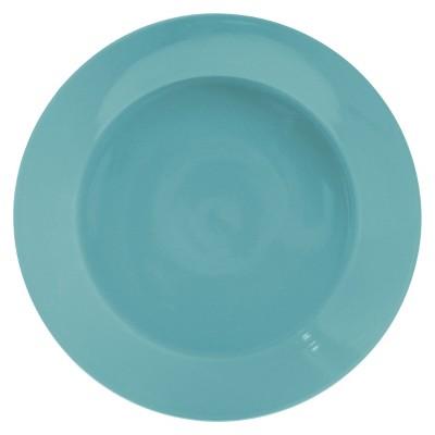 Room Essentials™ Angled Rim Stoneware Salad Plate - Turquoise