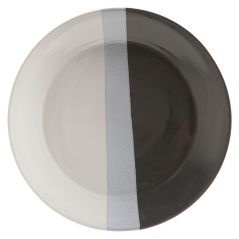 Room Essentials™ Tri-Band Ceramic Dinner Plate