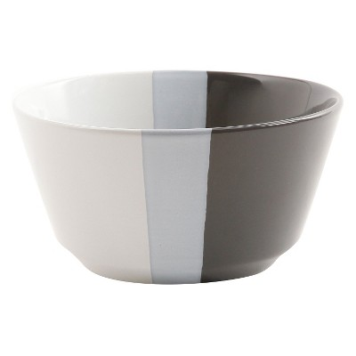 Bowls Room Essentials Sleek Gray Stripe