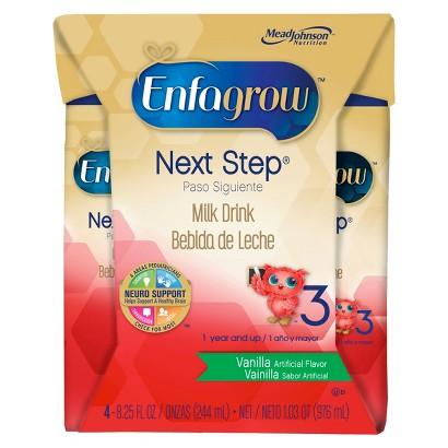 Enfagrow Next Step Vanilla Ready-to-Drink Toddler Formula - 8.25 floz (4 Count)