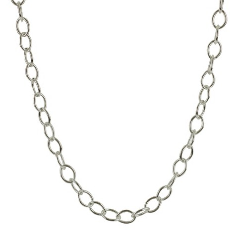 Jezlaine® Necklace Link Silver Plated - Silver