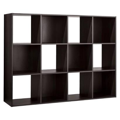 Room Essentials™ 12-Cube Organizer - Espresso