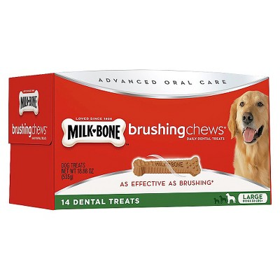 Milk-Bone Brushing Chews Large 18.8oz