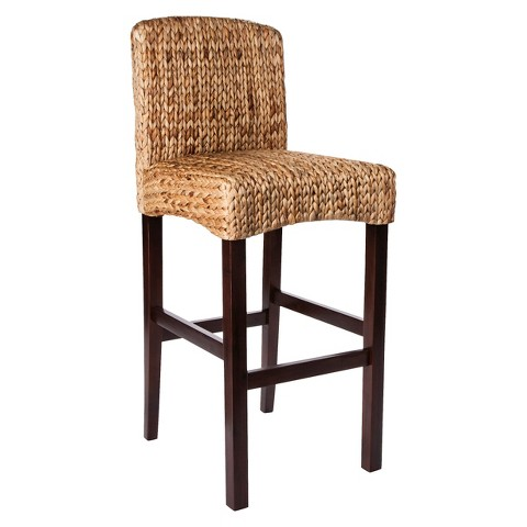"Threshold™ Water Hyacinth 29.5"" Barstool"
