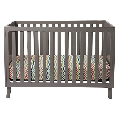 Delta Children Manhattan 3-in-1 Convertible Crib - Grey