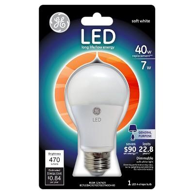 GE LED 40-Watt Light Bulb - Soft White