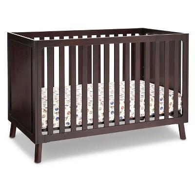 Delta Children Manhattan 3-in-1 Convertible Crib - Dark Chocolate