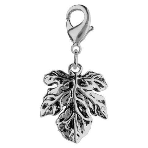 Jezlaine® Charm Silver Plated Leaf