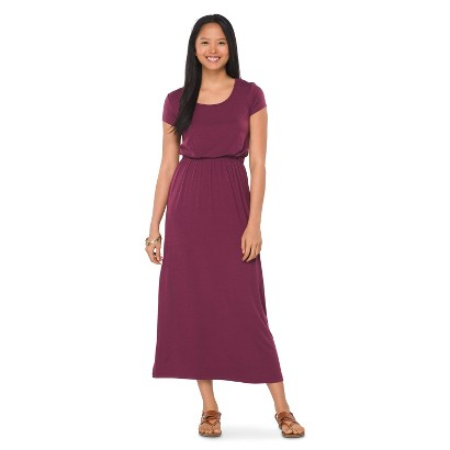 Shortsleeve T-Shirt Maxi Dress Burgundy - Mossimo Supply Co.