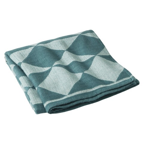 Room Essentials® Geometric Throw