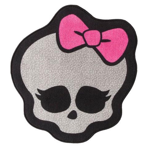 """Monster High Skull Rug - 20""""x30"""""""