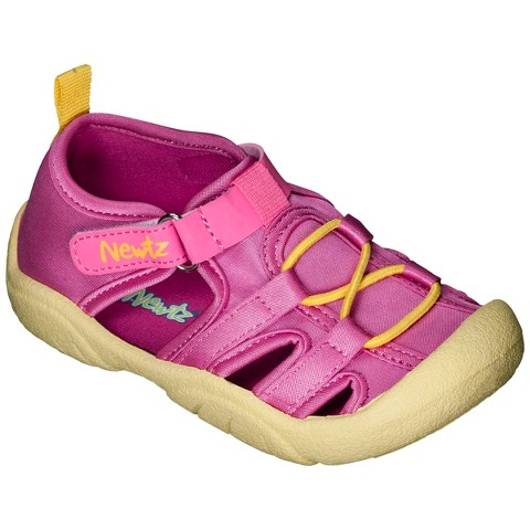 newtz toddler s water shoes pink target
