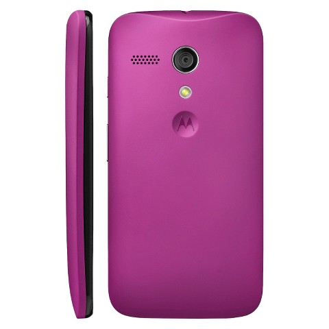 Motorola Shell for Moto G Cell Phone Case - Purple (ASMBTDRVIO)