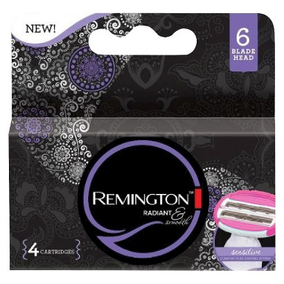 Remington Radiant & Smooth Refill - 6 Cartridges