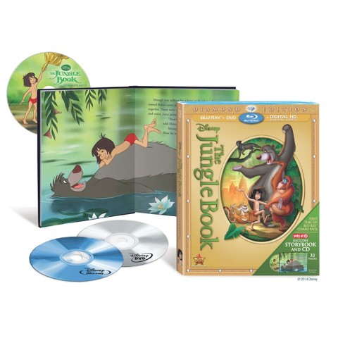 The Jungle Book: Diamond Edition (Blu-ray/DVD/Digital Copy) - Only at Target
