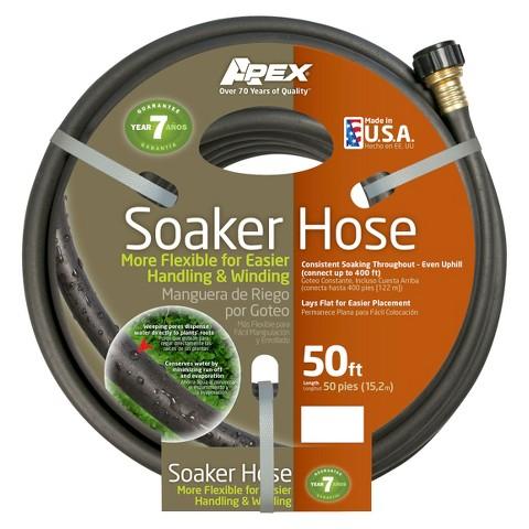 apex soil soaker garden hose 1 2 x 50 39 product details page