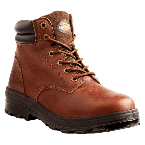Men's Dickies® Challenger Genuine Leather Waterproof Work Boots - Oxblood