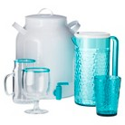 Summer Drinkware Collection - Aqua