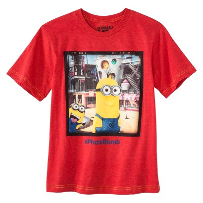 Despicable Me Boys' Graphic Tee - Red