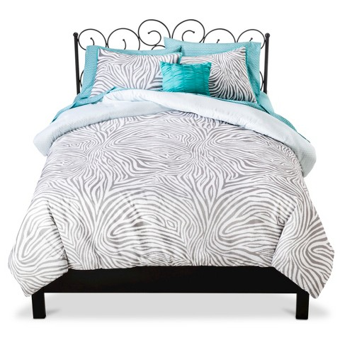 Xhilaration™ Zebra Reversible Bed in a Bag - Gray