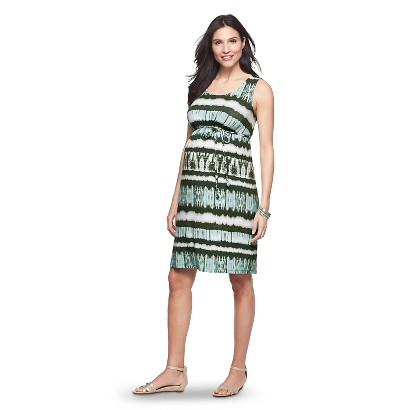 Maternity Sleeveless Knit Dress Green/Blue-Liz Lange® for Target®
