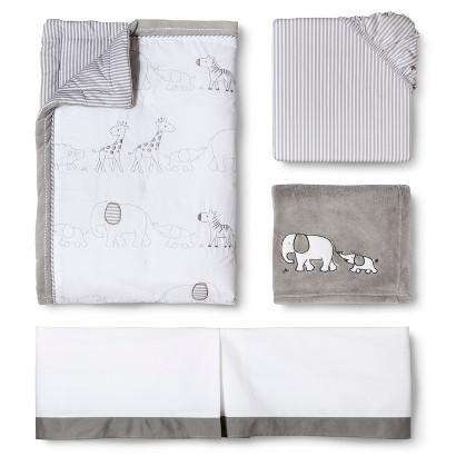 Circo® Two by Two 4pc Crib Bedding Set