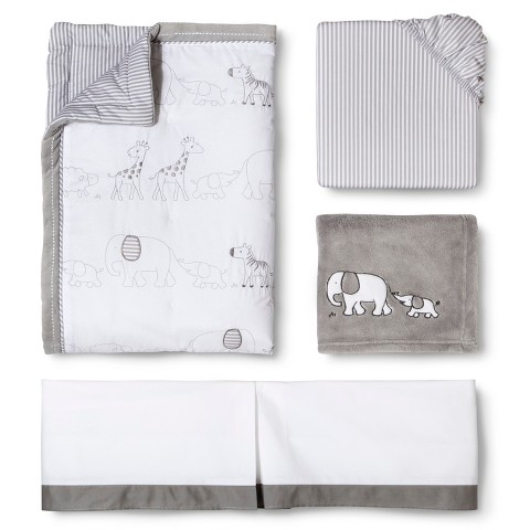 Circo™ 4pc Crib Bedding Set - Two by Two