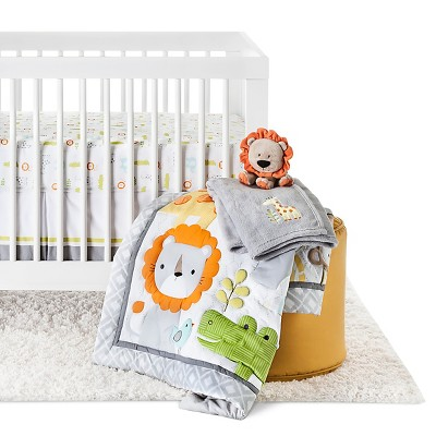 Circo® 4pc Crib Bedding Set - Snooz 'n Safari