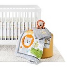 Circo® Snooz 'n Safari 4pc Crib Bedding Set