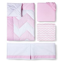 Lily 3pc Crib Bedding Set By Trend Lab Target