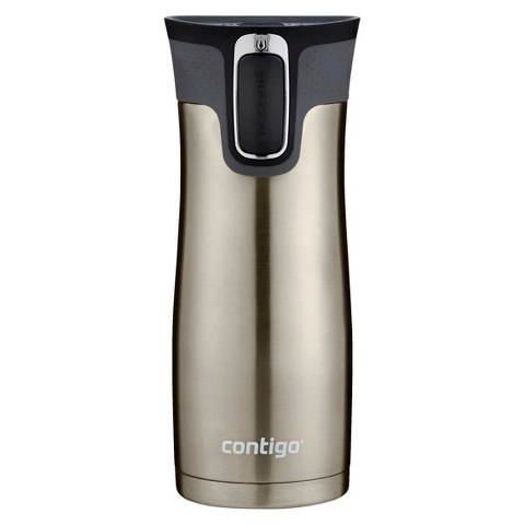 Contigo® AUTOSEAL® West Loop Stainless Travel Mug with Open-Access Lid - 16 oz