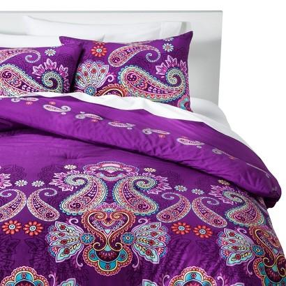 Amethyst Comforter Set - Purple