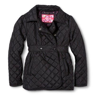 Dollhouse Girls' Lightweight Quilted Jacket