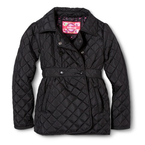 Dollhouse Girls' Lightweight Quilted Jacket