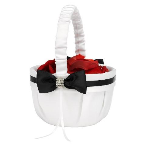Refined Romance Wedding Collection Flower Basket